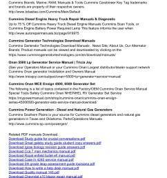 cummins tool generator operating manual pages 1 3 text version fliphtml5 [ 1273 x 1800 Pixel ]