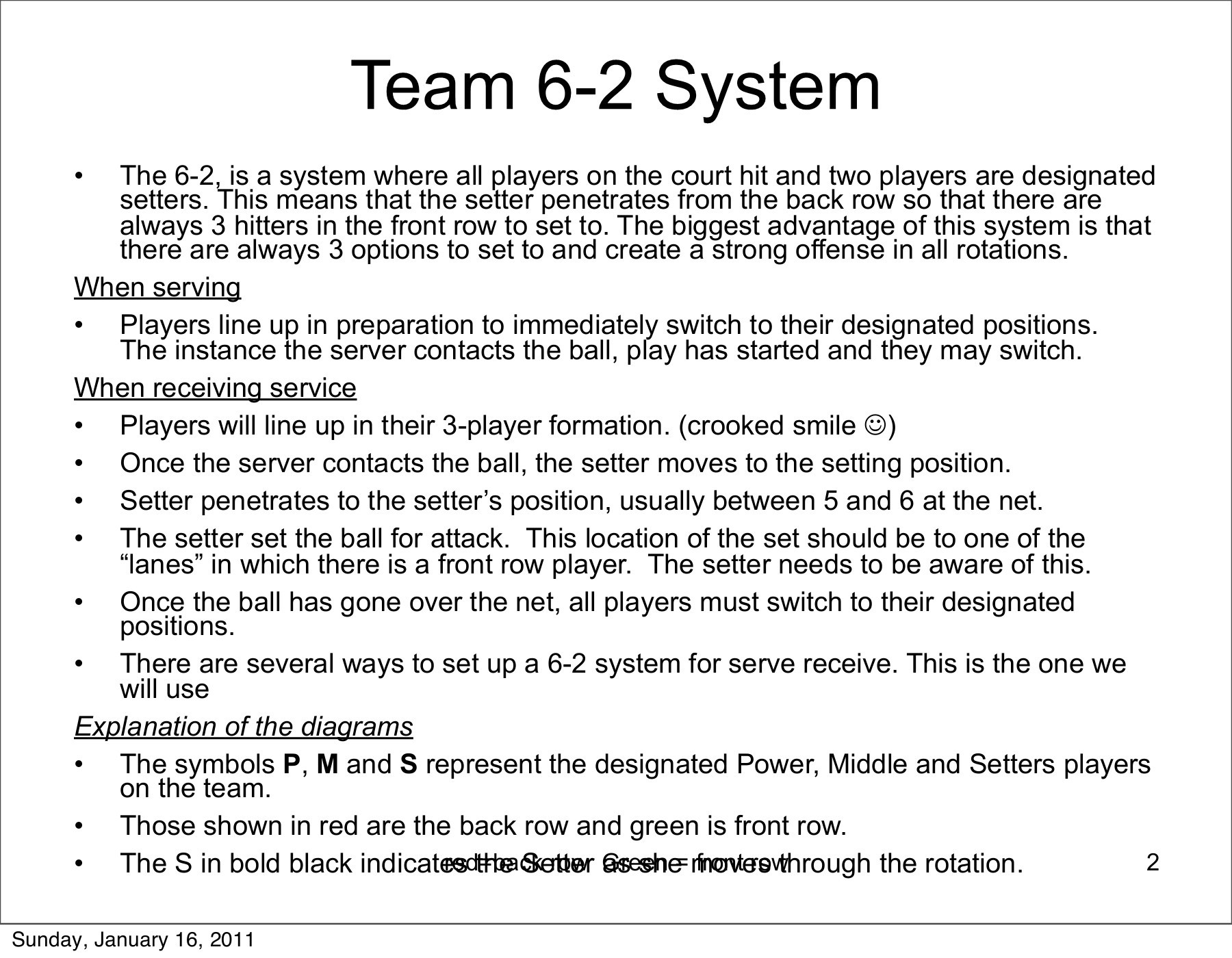 6 2 volleyball offense diagram cool paper plane system stars club pages 1 11 text version fliphtml5