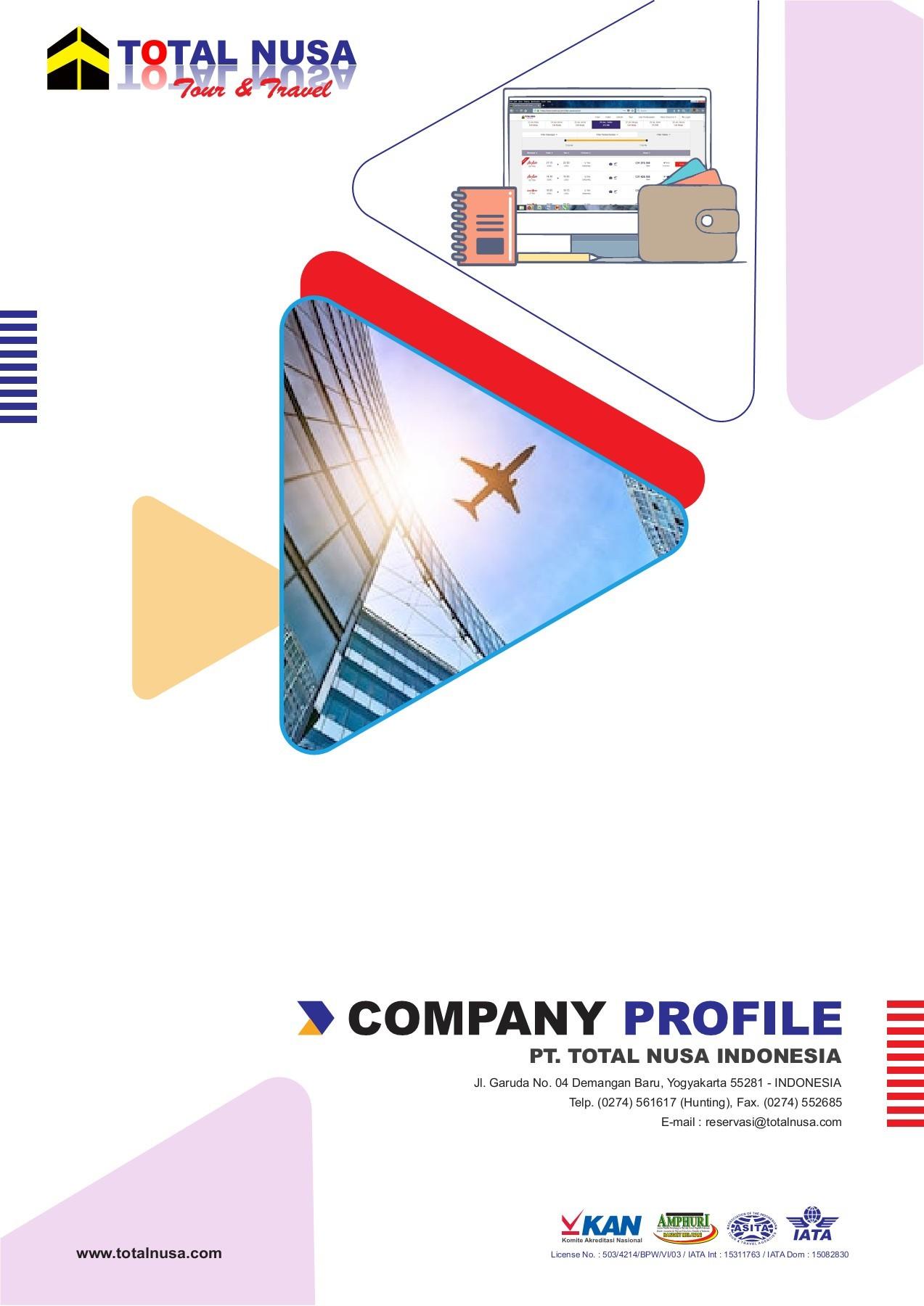 Company Profile Tour And Travel : company, profile, travel, Company, Profile, Total, Travel, Flipbook, FlipHTML5