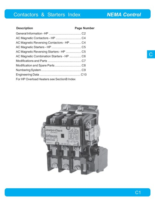 small resolution of contactors starters index nema control pages 1 14 text version fliphtml5