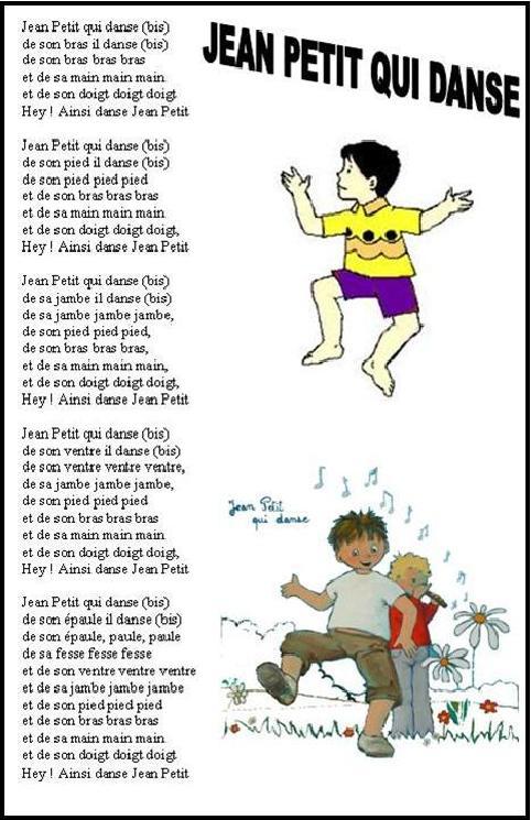 Jean Petit Qui Danse Paroles : petit, danse, paroles, Petit, Danse