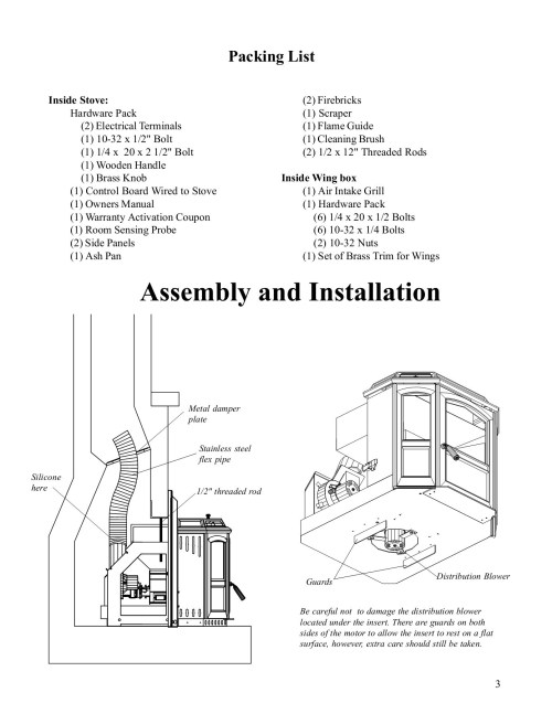 small resolution of invincible pellet insert owners manual hearth com pages 1 17 wiring diagram harman invincible insert