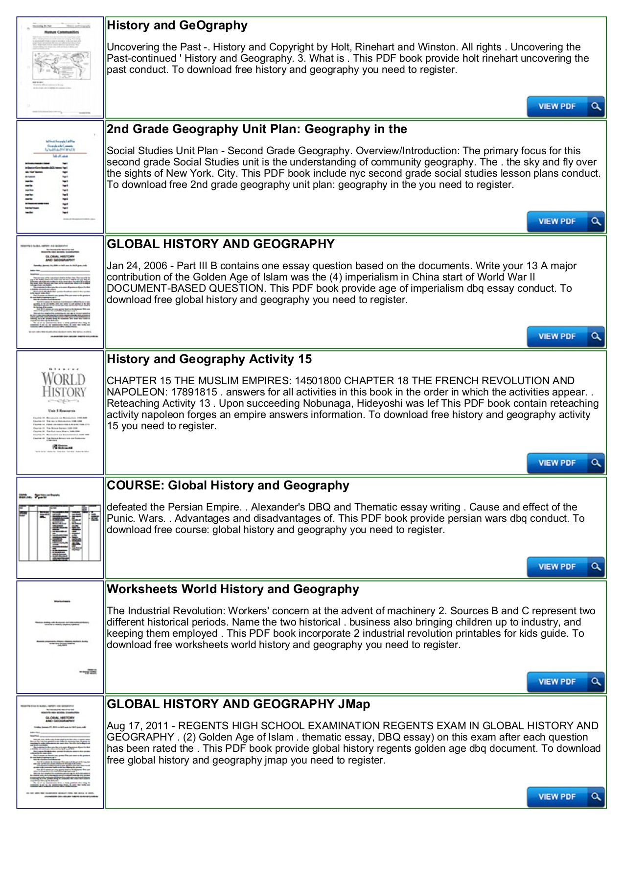 Holt Rinehart And Winston History Worksheet Answers