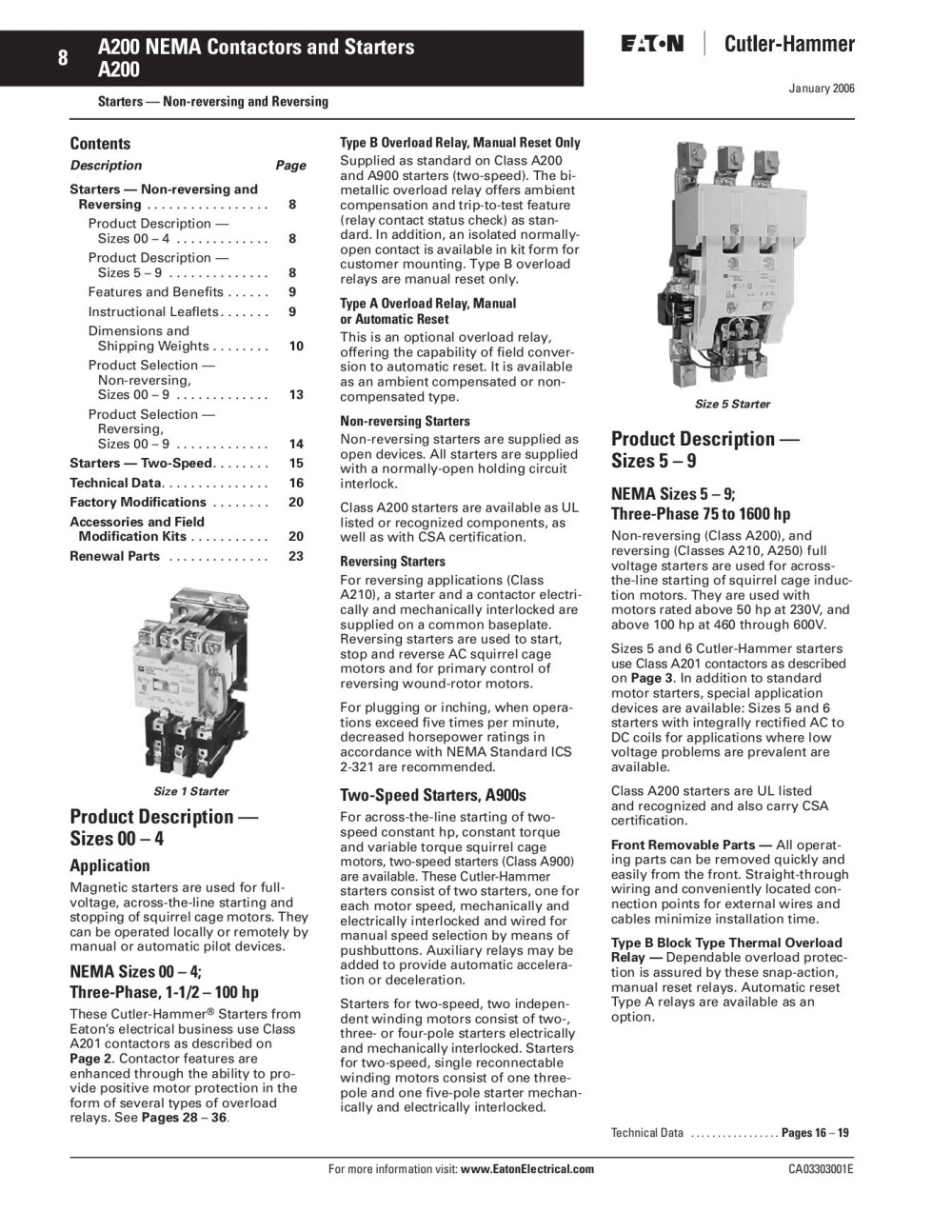 medium resolution of 8 a200 nema contactors and starters a200 pages 1 3 text version fliphtml5