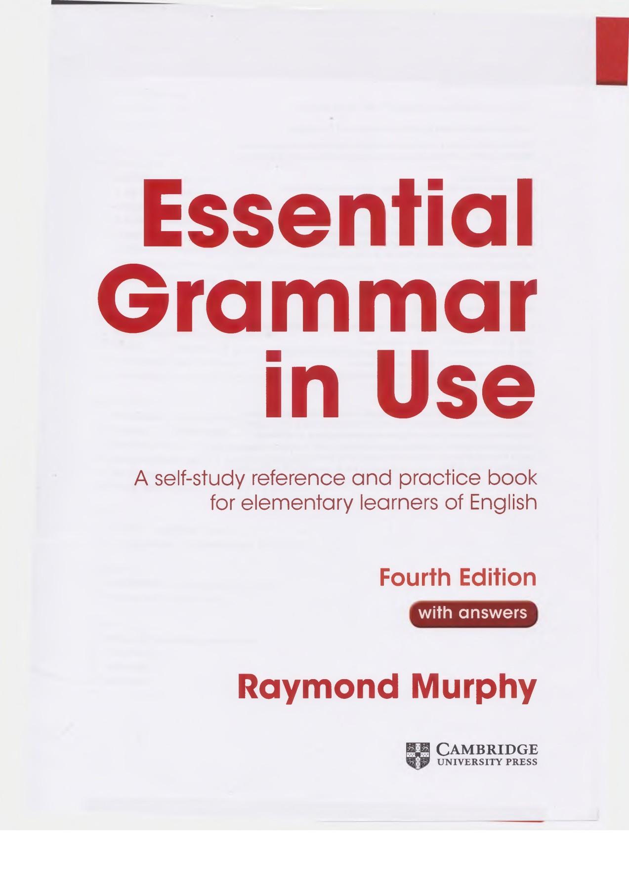 Essential Grammar In Use Pdf : essential, grammar, Essential, Grammar, Murphy, 4-ed,, 2015,, 319с-, Pages, Download, FlipHTML5