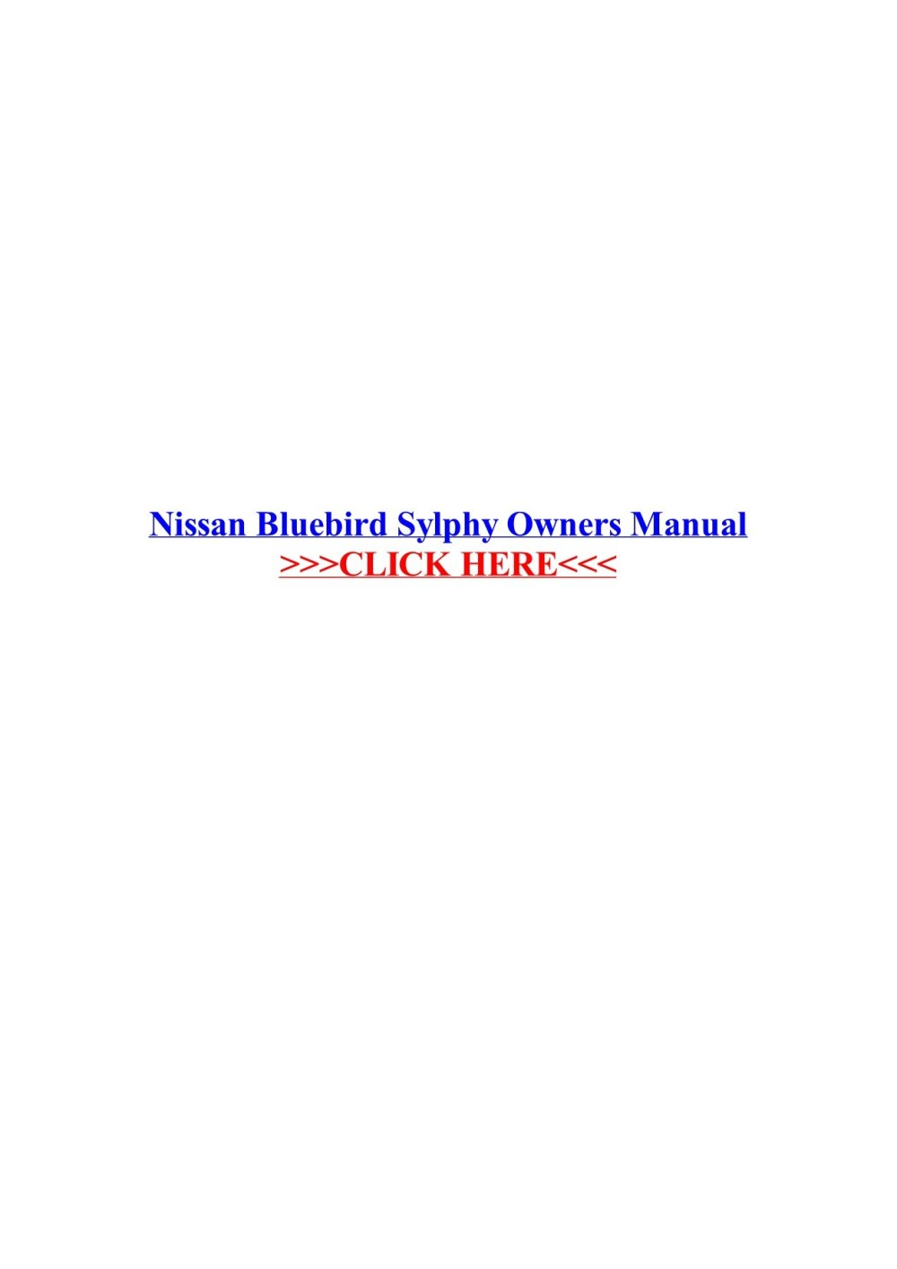 medium resolution of nissan bluebird sylphy owners manual veskolblacma pages 1 3 nissan bluebird turbo nissan bluebird sylphy wiring