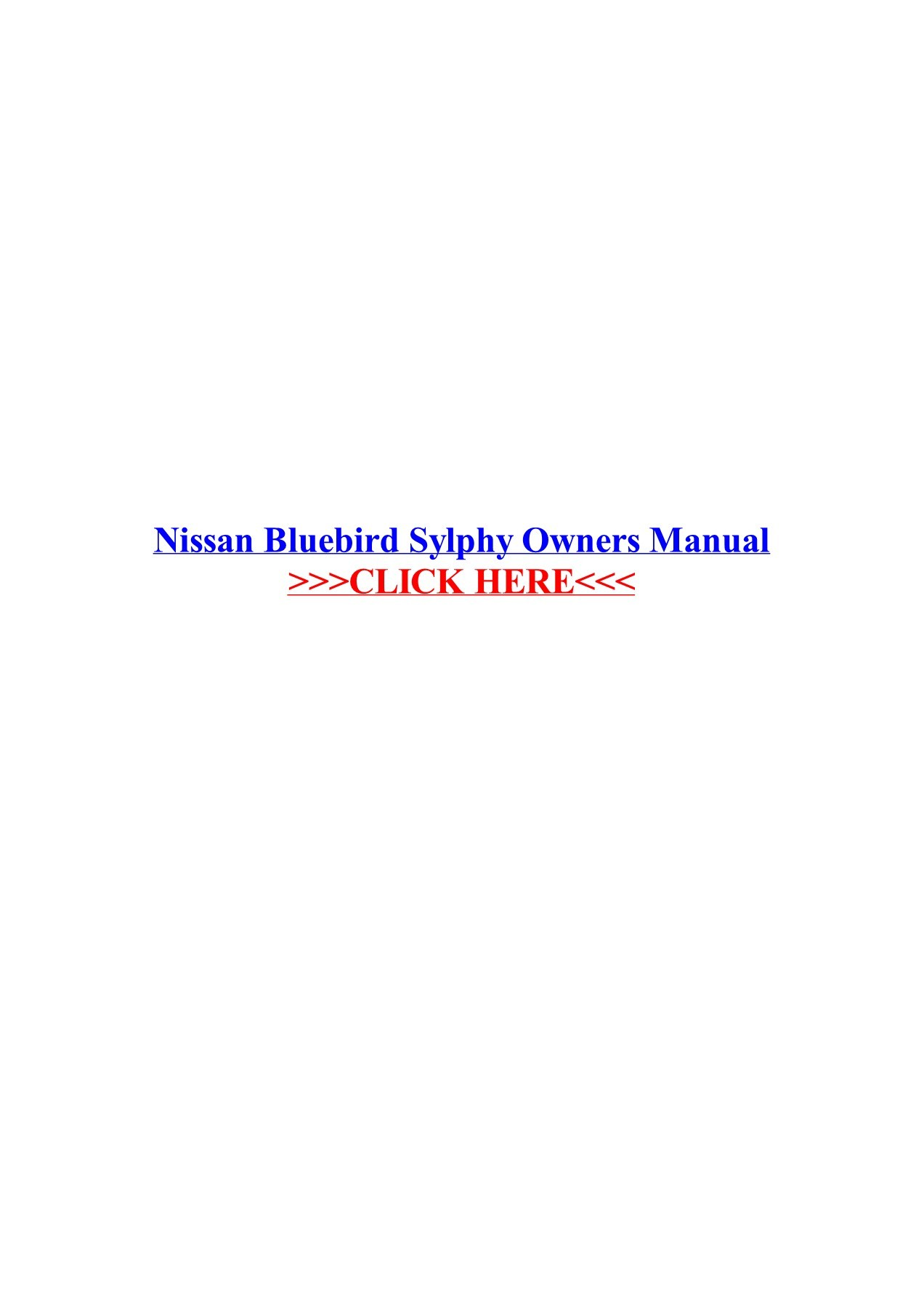 hight resolution of nissan bluebird sylphy owners manual veskolblacma pages 1 3 nissan bluebird turbo nissan bluebird sylphy wiring