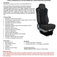 Chair Safety In Design Nsw Best Bean Bag Reddit Isri 6860 870 Pro Air For Commercial Vehicles Pages 1 Text Version Fliphtml5