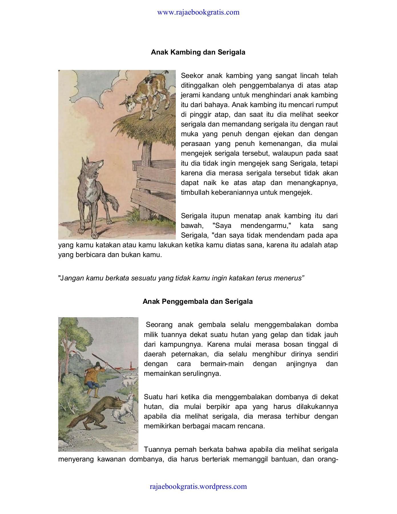 Cerita Dongeng Fabel : cerita, dongeng, fabel, Dongeng, Fabel