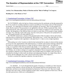 The Constitutional Convention Worksheet - Promotiontablecovers [ 1800 x 1391 Pixel ]