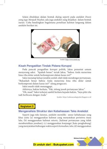 Kalimat Sindiran Dalam Teks Anekdot : kalimat, sindiran, dalam, anekdot, Siswa, Bahasa, Indonesia, Kelas, Revisi, Pages, Download, FlipHTML5