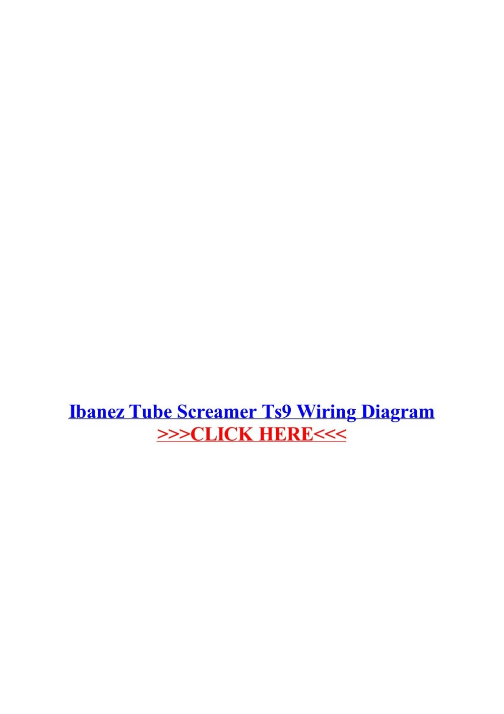 medium resolution of ibanez tube screamer ts9 wiring diagram wordpress com