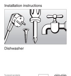 installation instructions dishwasher miele pages 1 40 text version fliphtml5 [ 1271 x 1800 Pixel ]