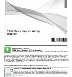 1966 chevy caprice wiring diagram mybooklibrary com pages 1 7 rh fliphtml5 com 65 impala 66 [ 1273 x 1800 Pixel ]
