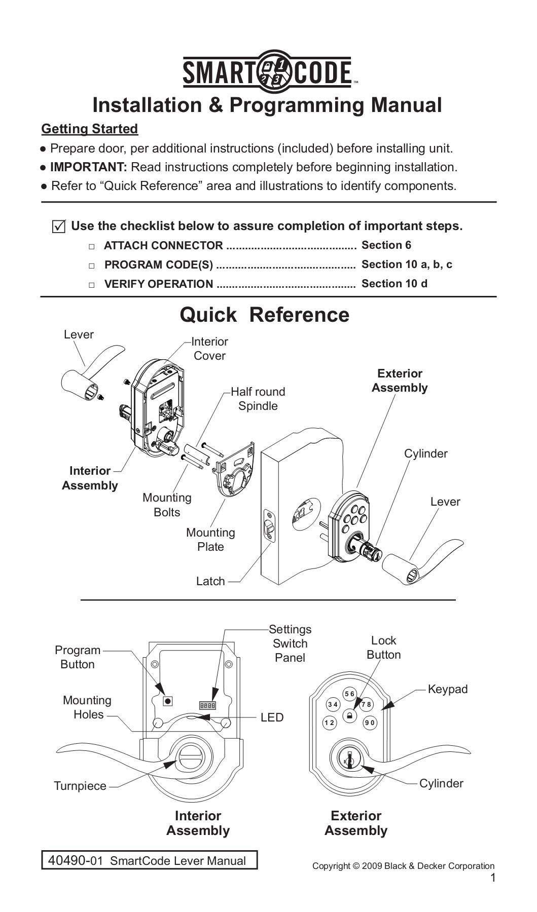 hight resolution of installation programming manual weiser