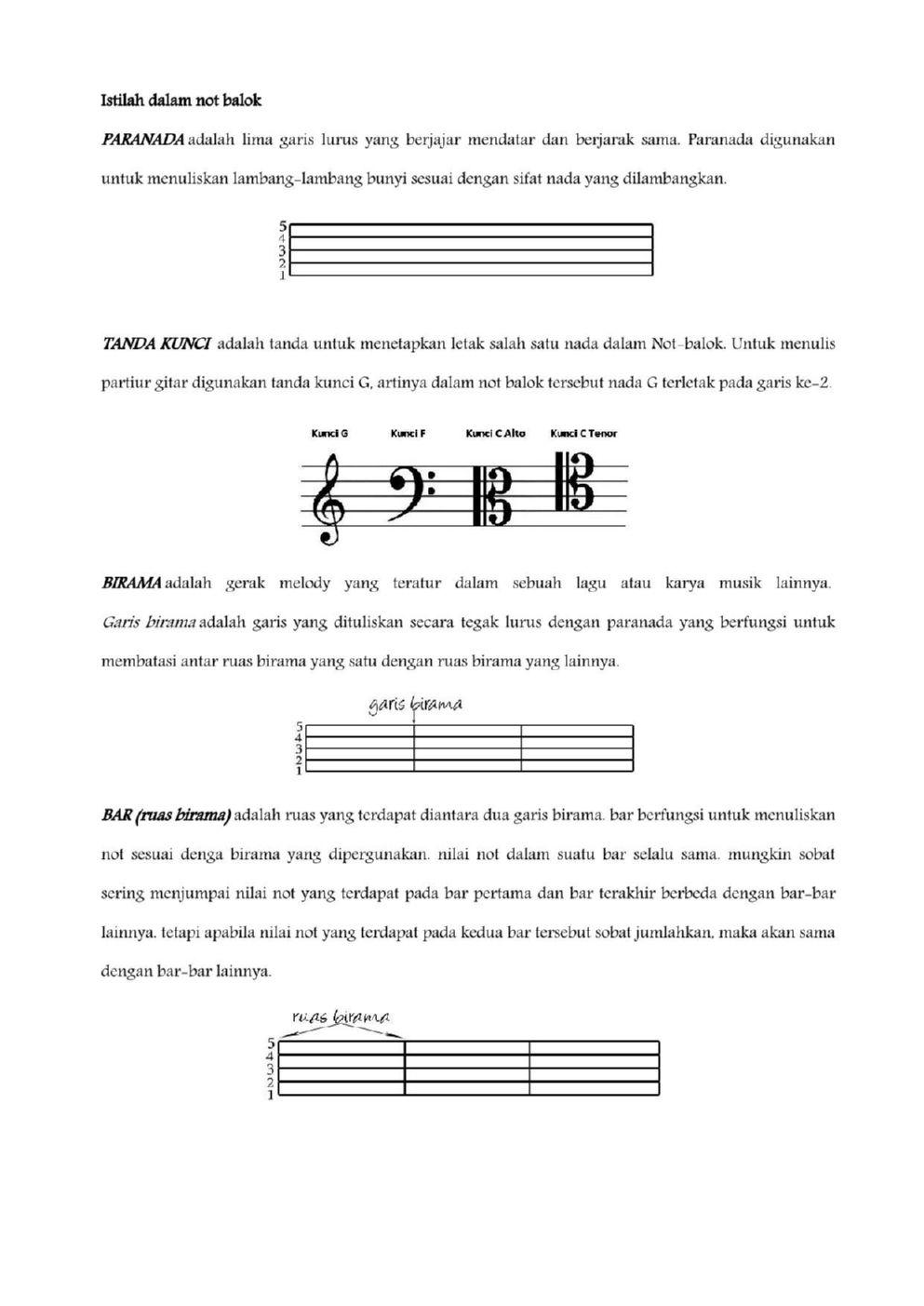 Birama Adalah : birama, adalah, Belajar, Musik, Bersama, Bearlee, Pages, Download, FlipHTML5