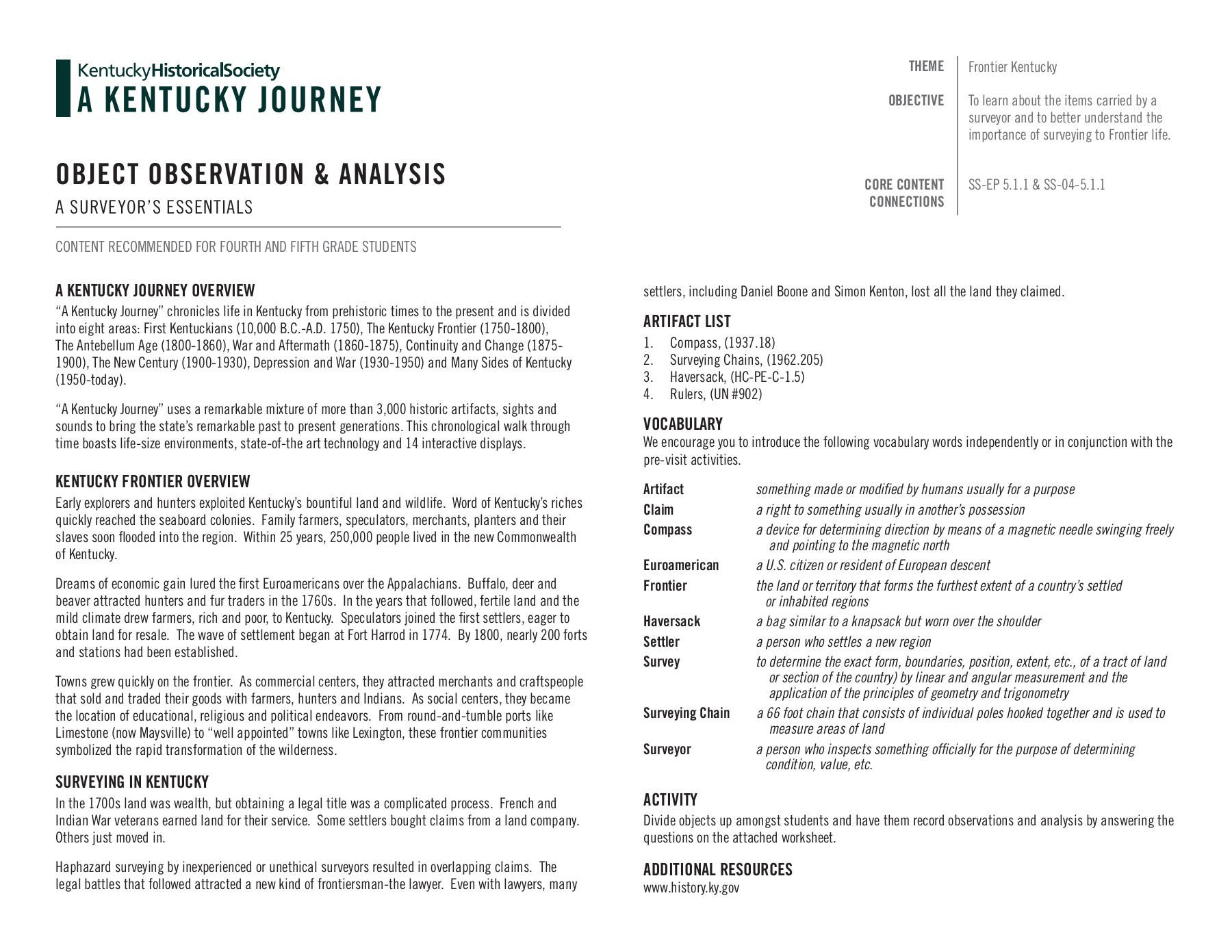 hight resolution of A KENTUCKY JOURNEY - Kentucky Historical Society Pages 1 - 7 - Flip PDF  Download   FlipHTML5