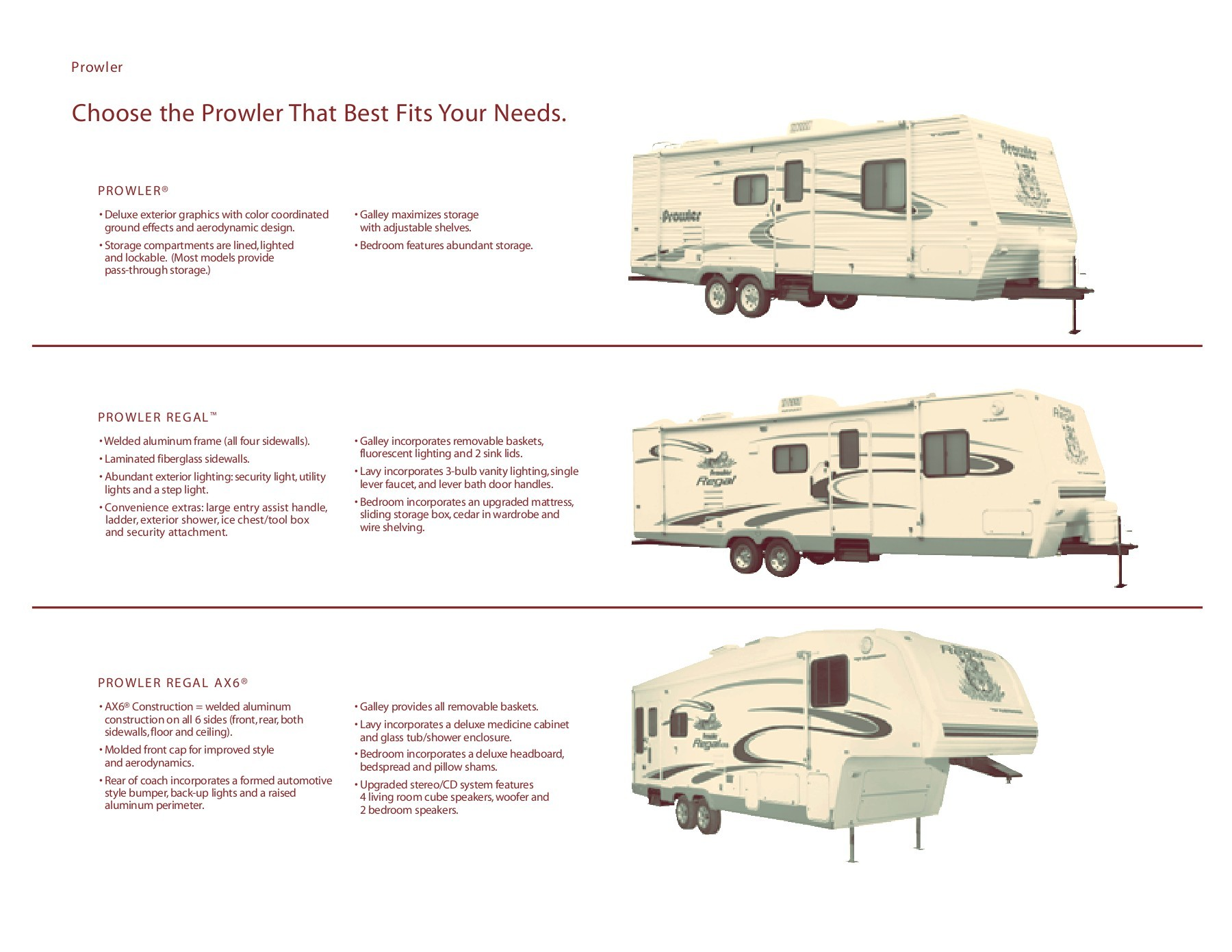 hight resolution of 2005 fleetwood prowler brochure 1 rvusa com pages 1 20 text version fliphtml5