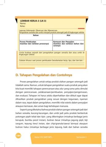 Pengolahan Serealia Dan Umbi Di Lingkungan Sekitar : pengolahan, serealia, lingkungan, sekitar, Kelas1_prakarya_smp_mts_kelas_viii_semester_1_2043, Pages, Download, FlipHTML5