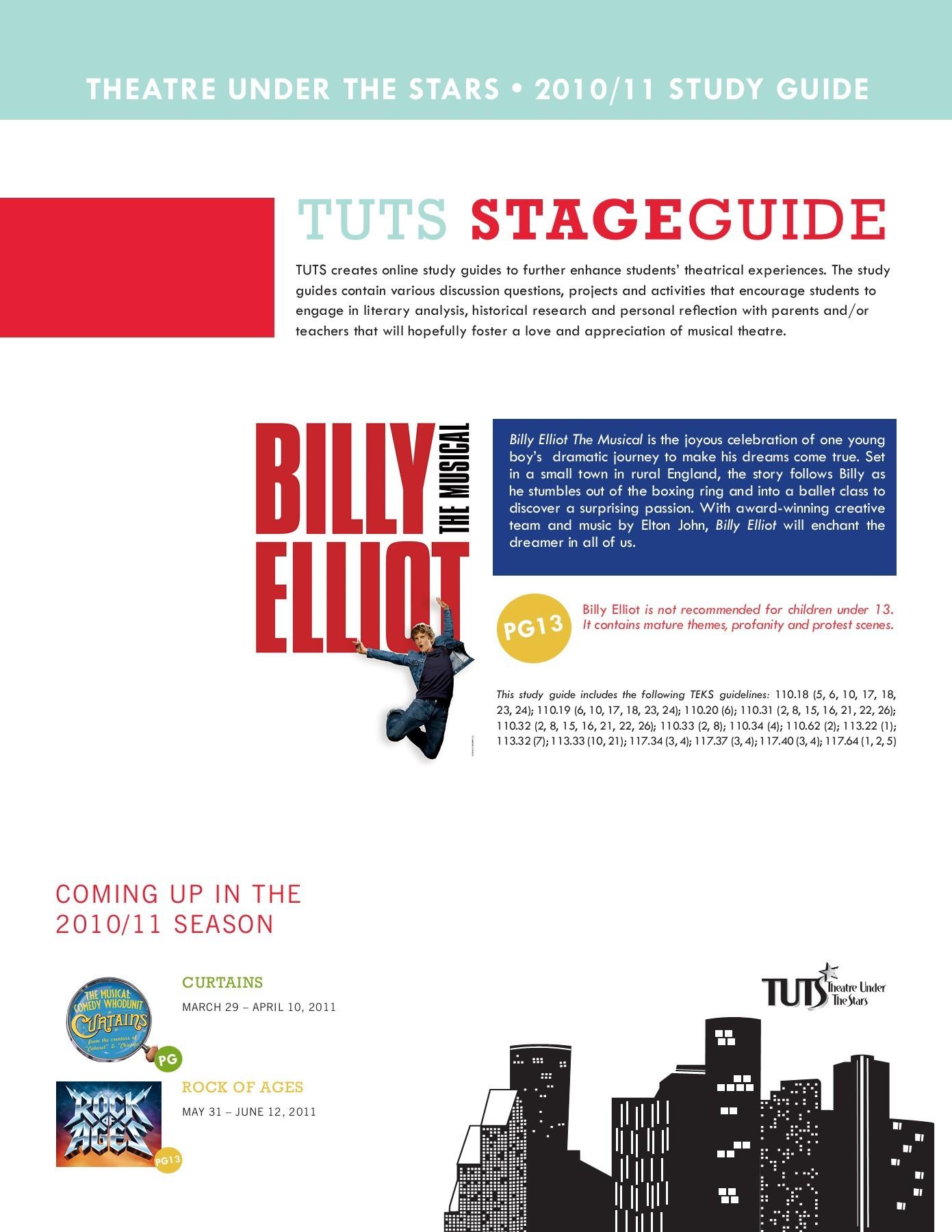 Billy Elliot Boxing Sceneysis