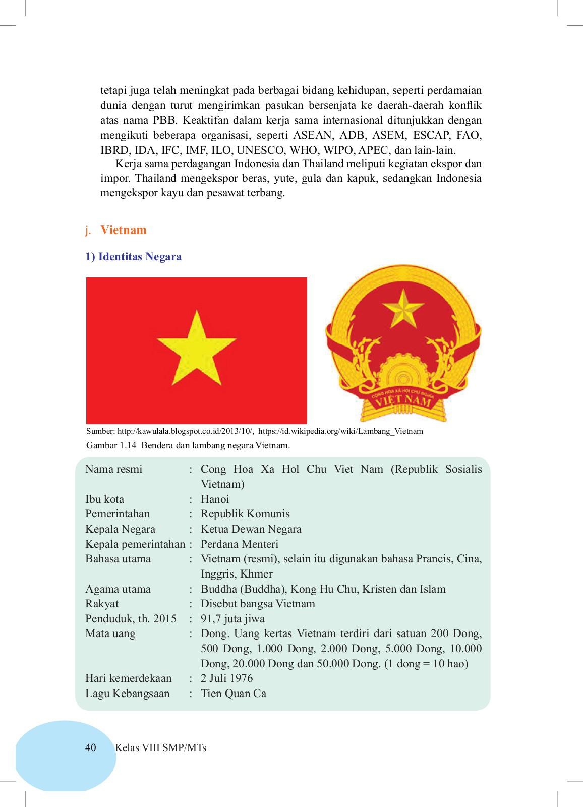 Bendera Dan Lambang Negara Vietnam : bendera, lambang, negara, vietnam, Siswa, Edisi, Revisi, Pages, Download, FlipHTML5