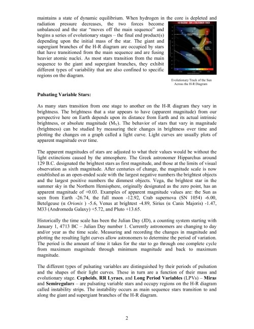small resolution of plotting variable stars on the h r diagram activity pages 1 7 text version fliphtml5