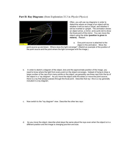 small resolution of geometrical optics curved mirrors worksheet pages 1 6 text version fliphtml5