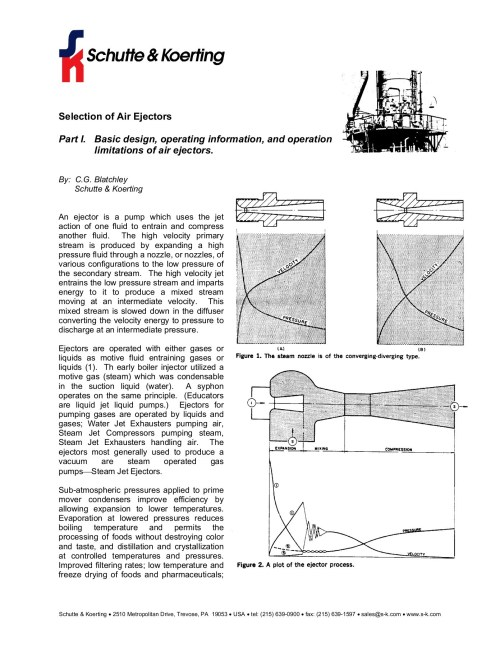 small resolution of selection of air ejectors schutte amp koerting pages 1 9 text version