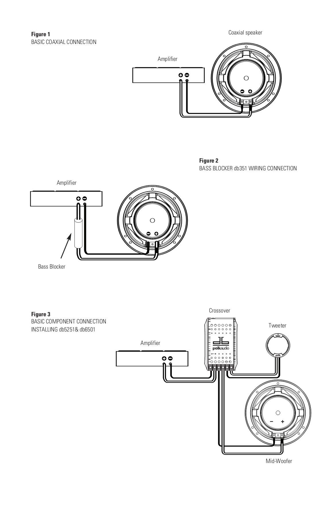 Speaker Bass Blocker Wiring Diagram