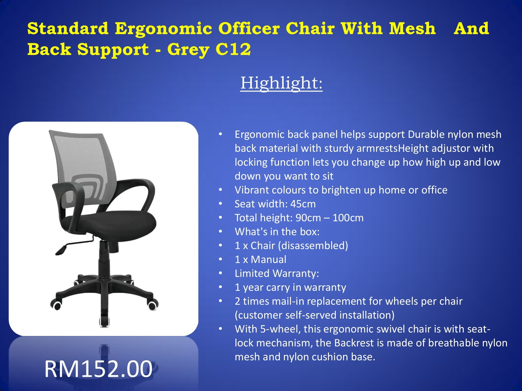 back support for office chair malaysia chairs people with pain ergonomic executive pages 1 7 text version fliphtml5