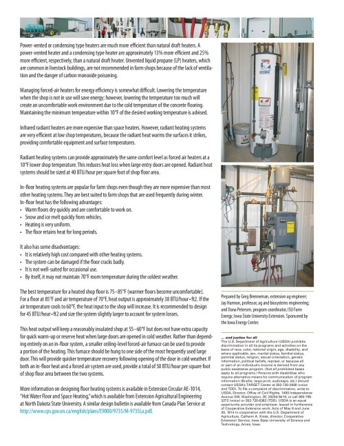 small resolution of conserve heat energy in the farm shop iowa state university pages 1 2 text version fliphtml5