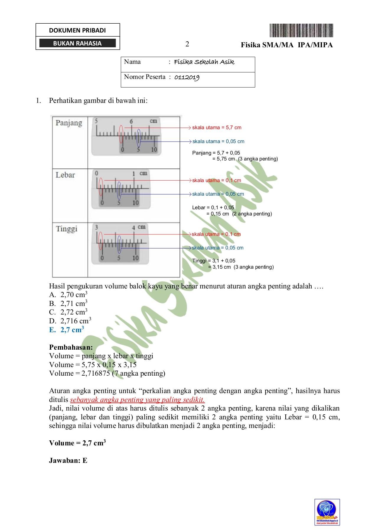 Angka Penting Perkalian : angka, penting, perkalian, PEMBAHASAN, FISIKA, Paket, Pages, Download, FlipHTML5