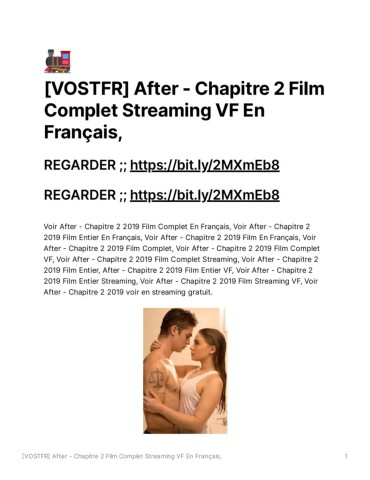 After Chapitre 1 Streaming Complet Vf : after, chapitre, streaming, complet, VOSTFR_After_-_Chapitre_2_Film_Complet_Streaming_VF_En_Franais, Pages, Download, FlipHTML5