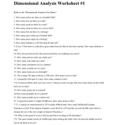 Dimensional Analysis Worksheet 1 - Worksheet List [ 1800 x 1391 Pixel ]