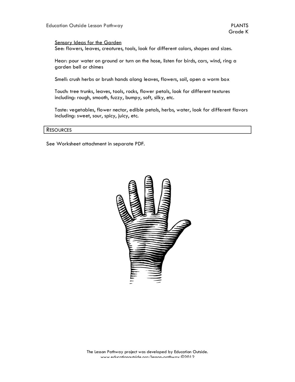 medium resolution of Five Senses in the Garden - Education Outside Pages 1 - 3 - Flip PDF  Download   FlipHTML5