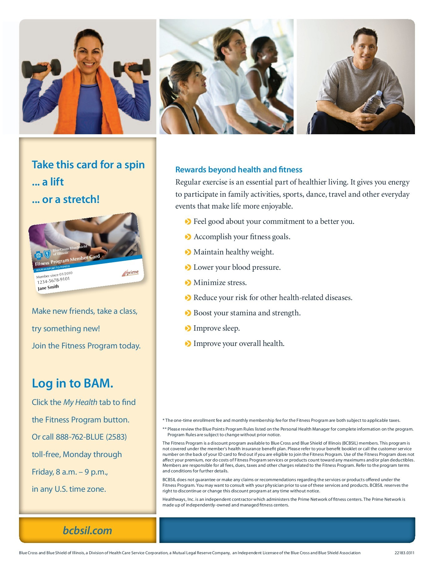 Bcbsil Fitness Program Participating Fitness Centers ...