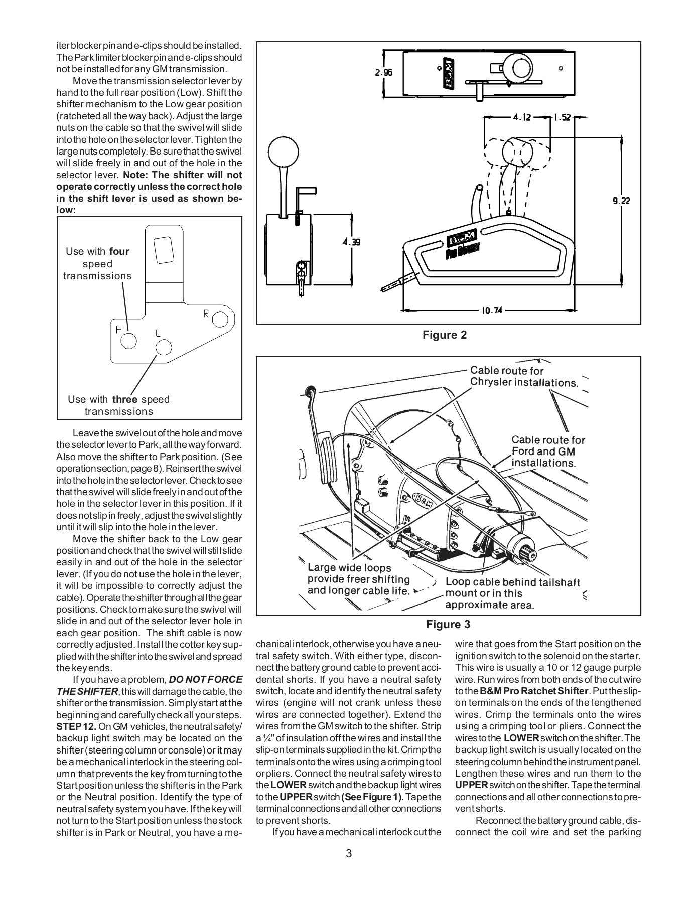 hight resolution of b amp m shifter wiring diagram