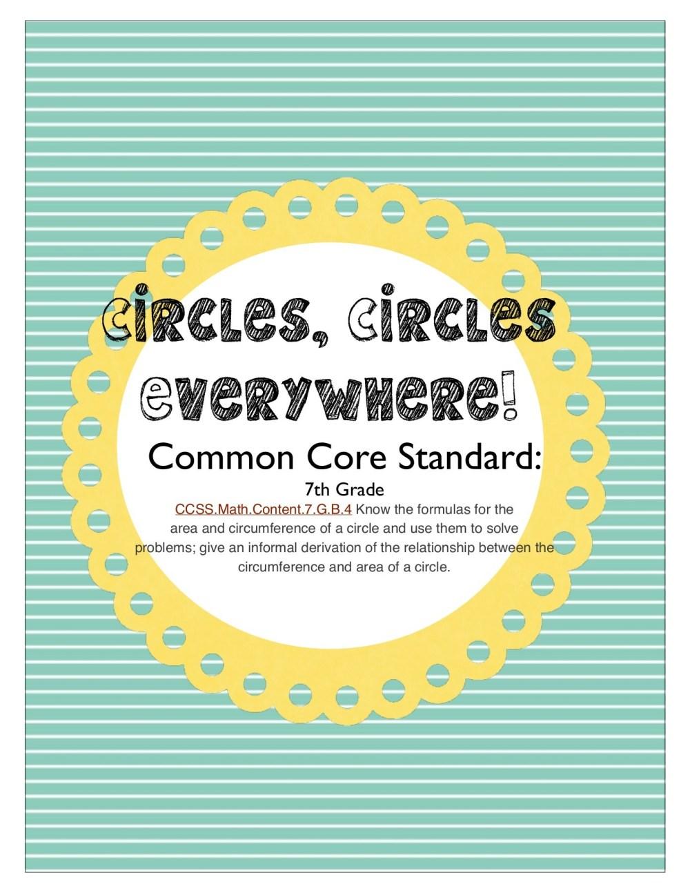 medium resolution of Circles