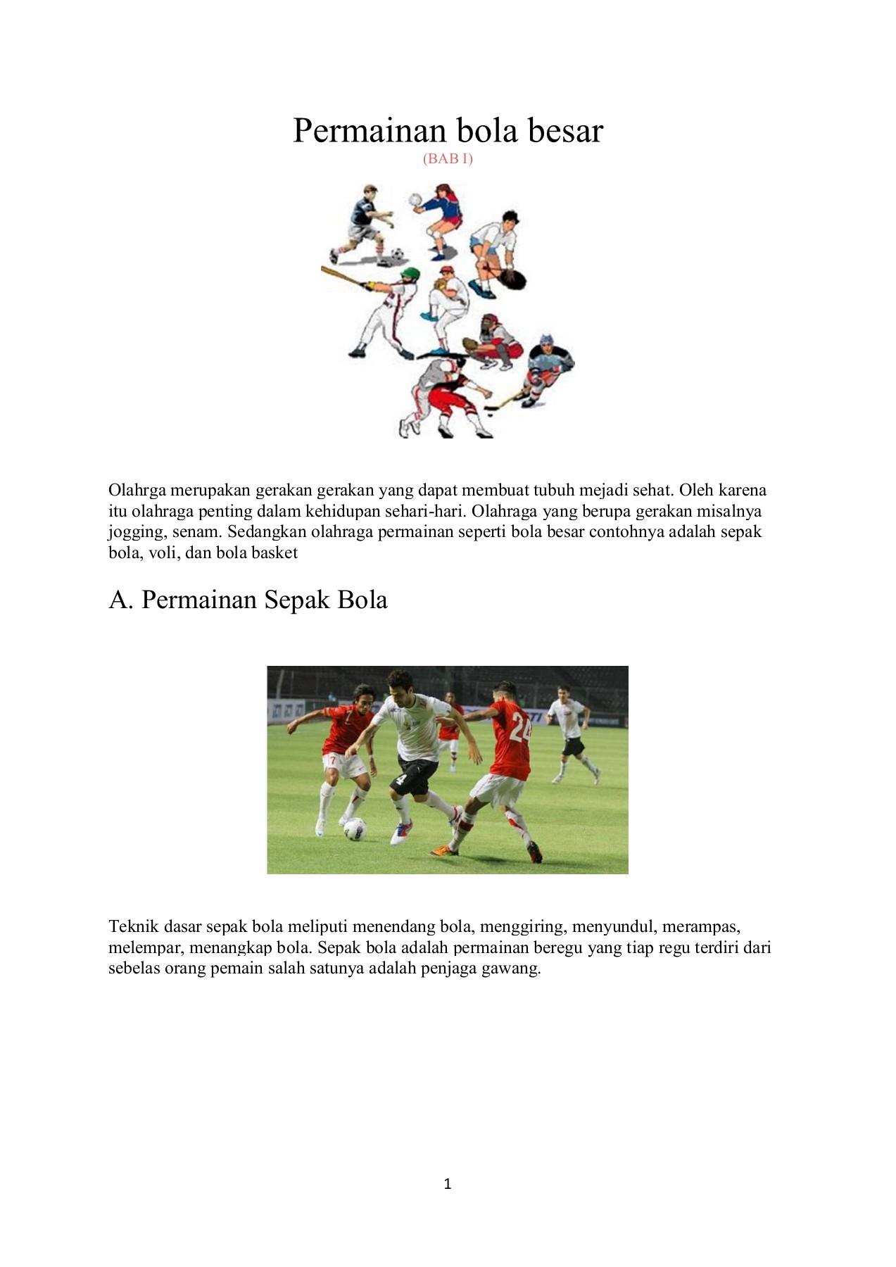 Teknik Dasar Pemain Sepak Bola : teknik, dasar, pemain, sepak, Kelas