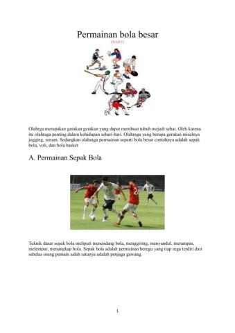 Perkenaan Bola Jika Ingin Menendang Melambung Adalah Bagian : perkenaan, ingin, menendang, melambung, adalah, bagian, Kelas, Pages, Download, FlipHTML5