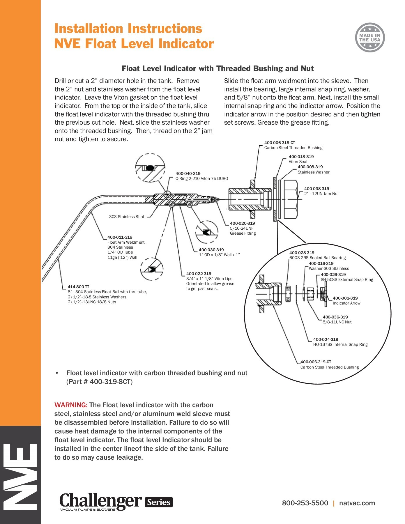 hight resolution of float level installation instructions pages 1 2 text version fliphtml5