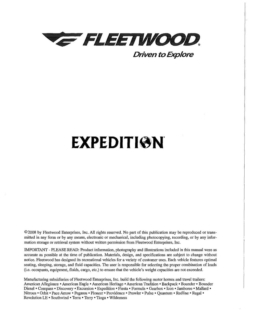 medium resolution of fleetwood fleetwood rv