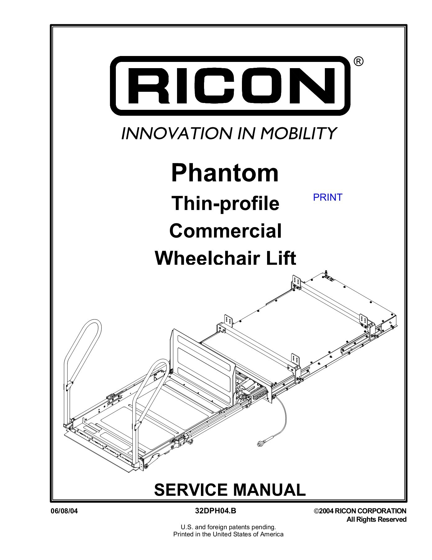 ricon lift wiring diagram s plan heating phantom corp pages 1 50 text version fliphtml5