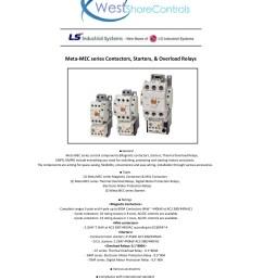 meta mec series contactors starters overload relays pages 1 50 text version fliphtml5 [ 1391 x 1800 Pixel ]