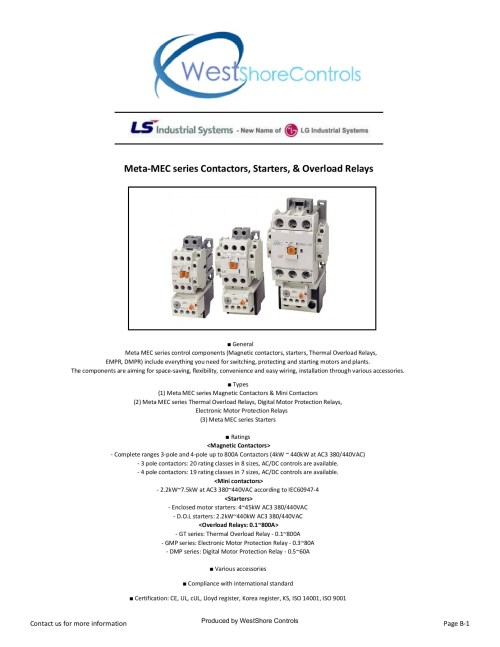 small resolution of meta mec series contactors starters overload relays pages 1 50 text version fliphtml5