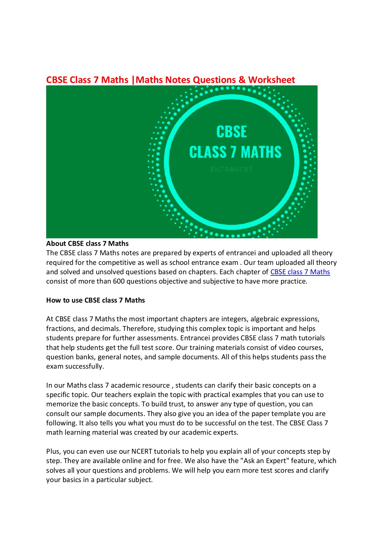 small resolution of CBSE class 7 Maths Pages 1 - 2 - Flip PDF Download   FlipHTML5