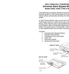 vats passlock transponder universal alarm bypass module pages 1 7 text version fliphtml5 [ 1800 x 1391 Pixel ]
