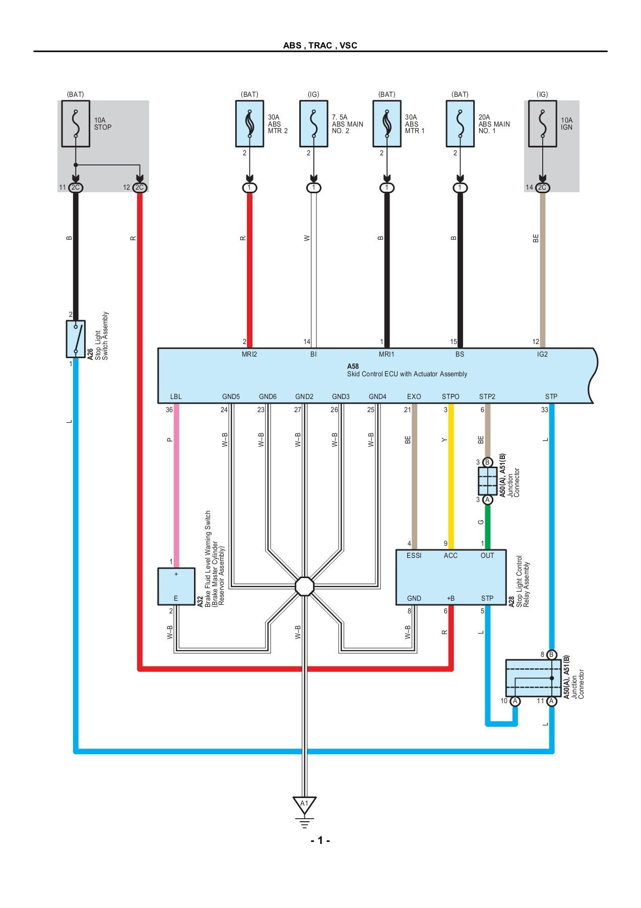 medium resolution of toyota prius 2010 electrical wiring diagrams pages 1 50 text version fliphtml5