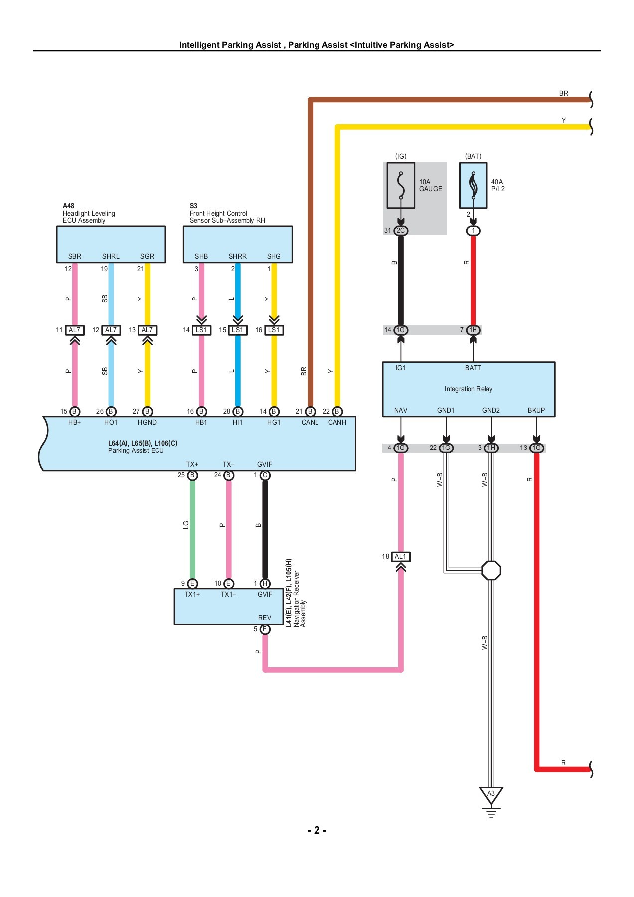 harness diagram electrical service toyota prius 2010 electrical wiring diagrams pages 301 350 text on toyota jbl wire  [ 1272 x 1800 Pixel ]