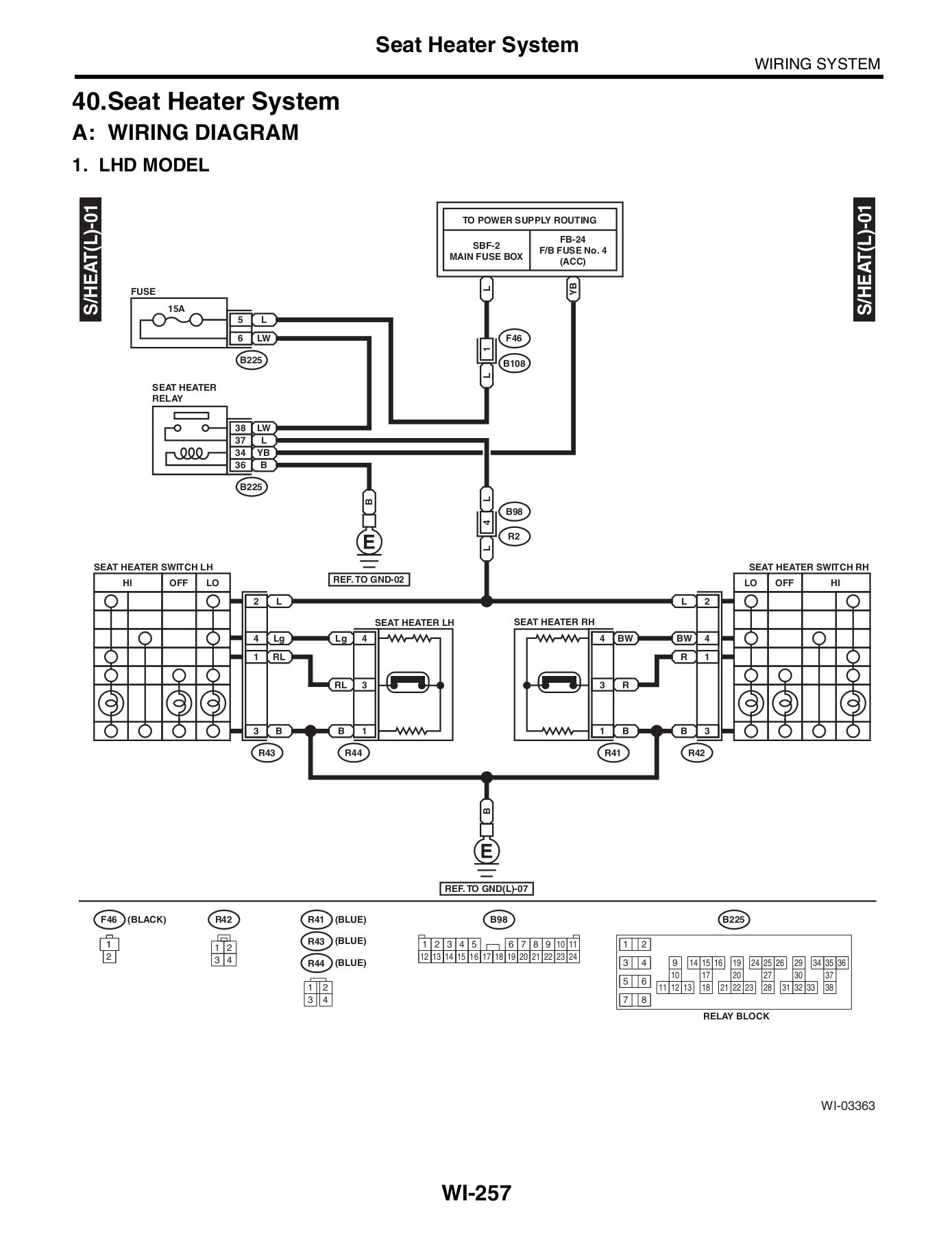 hight resolution of rear defoggercar wiring diagram page 5